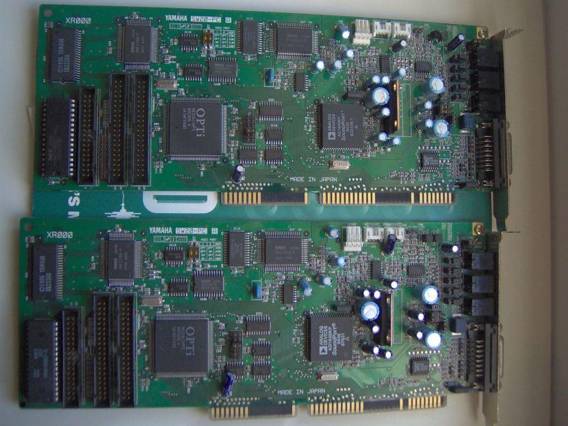 Yamaha (SW 20-PC, SW 60 XG, SW1000XG, DB50XG)   Retrosoundcards
